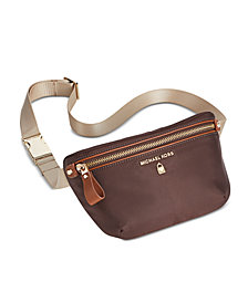MICHAEL Michael Kors Nylon Fanny Pack, Created for Macy's