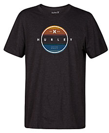 Hurley Men's Griffith Logo Graphic T-Shirt