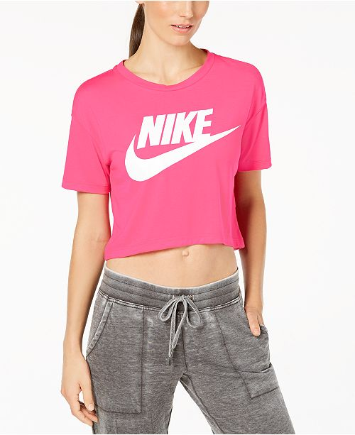 8f4ff9c7098077 Nike Sportswear Essential Cropped Top  Nike Sportswear Essential Cropped Top  ...
