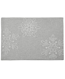 "Homewear Fun Snowflake 13"" x 19"" Placemat"