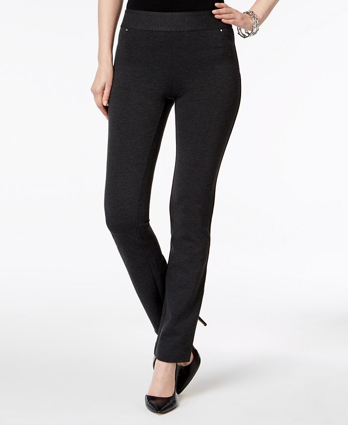 INC International Concepts - Pull-On Straight-Leg Pants