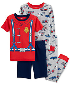 58a0e08c21cd Long Sleeve Boys Pajamas - Macy s