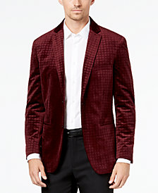 Alfani Men's Textured Velvet Sport Coat, Created for Macy's