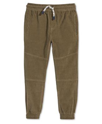 Little Boys Corduroy Cotton Jogger Pants, Created for Macy's