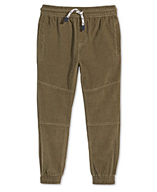 Epic Threads Little Boys Corduroy Cotton Jogger Pants, Created for Macy's