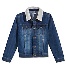 Epic Threads Little Boys Embroidered-Back Denim Jacket, Created for Macy's