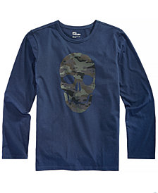 Epic Threads Big Boys Skull-Print T-Shirt, Created for Macy's