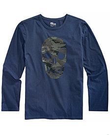 Epic Threads Big Boys Skull-Print T-Shirt, Created for Macy's