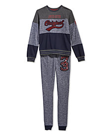 Epic Threads Big Boys Sweatshirt & Marled Jogger Pants, Created for Macy's