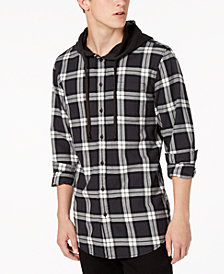 American Rag Men's Hooded Camden Shirt, Created for Macy's