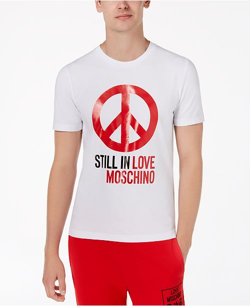 0370b79aa Love Moschino Men's Peace T-Shirt & Reviews - T-Shirts - Men - Macy's