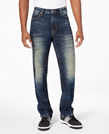 Sean John Men's Hamilton Relaxed Slim Fit Jeans