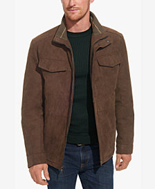 Weatherproof Men's Faux-Suede Field Military Jacket