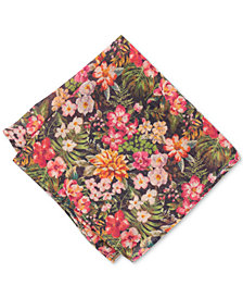 Bar III Men's Carinel Floral Wool Pocket Square, Created for Macy's