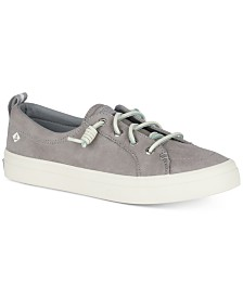 Sperry Women's Crest Vibe Memory-Foam Lace-Up Sneakers