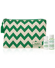 Receive a FREE 3 pc. Skincare Gift with $30 Mario Badescu Purchase!