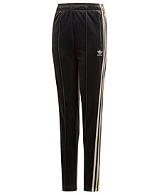 adidas Big Girls Slim-Fit Track Pants
