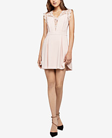 BCBGeneration Lace-Inset Dress
