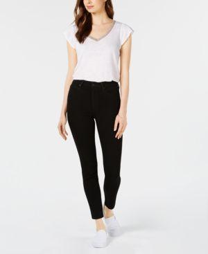 Flawless - Charlie High Waist Ankle Skinny Jeans in Regan
