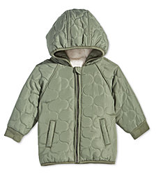 First Impressions Baby Boys Hooded Puffer Jacket, Created for Macy's