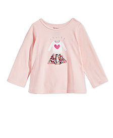 First Impressions Toddler Girls Skirt-Print Cotton T-Shirt, Created for Macy's