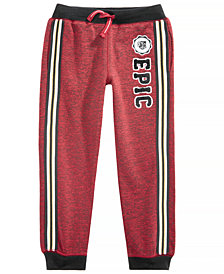 Epic Threads Little Boys Varsity Jogger Pants, Created for Macy's