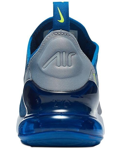 best website 2d223 46002 Nike Boys' Air Max 270 KJCRD Casual Sneakers from Finish ...