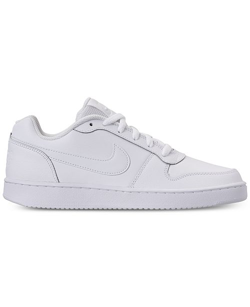 b372aa66dc17 Nike Men s Ebernon Low Casual Sneakers from Finish Line   Reviews ...