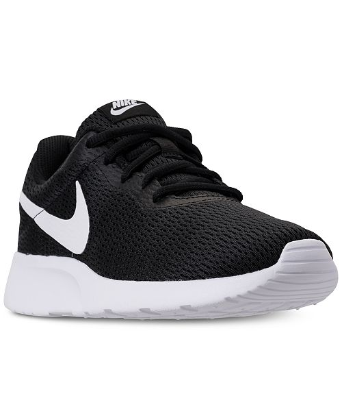 d48502a06bdf Nike Women s Tanjun Wide Width (2E) Casual Sneakers from Finish Line ...