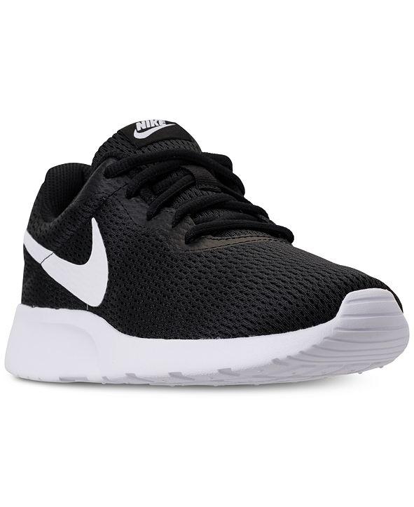 Nike Women's Tanjun Wide Width Casual Sneakers from Finish Line