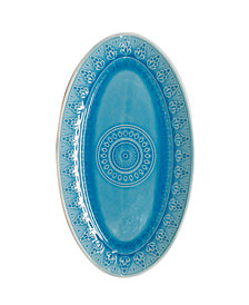 EuroCeramica Fez Oval Platter