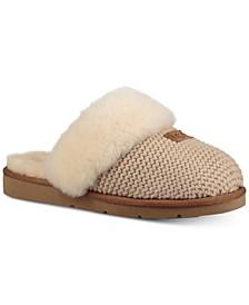 Women's Cozy Knit Slippers