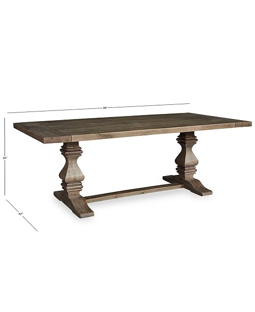 Furniture Tristan Trestle Dining Table