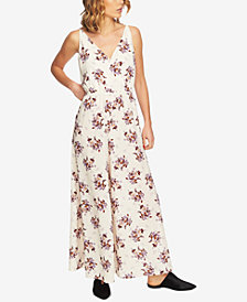 1.STATE Floral-Print Wide-Leg Jumpsuit