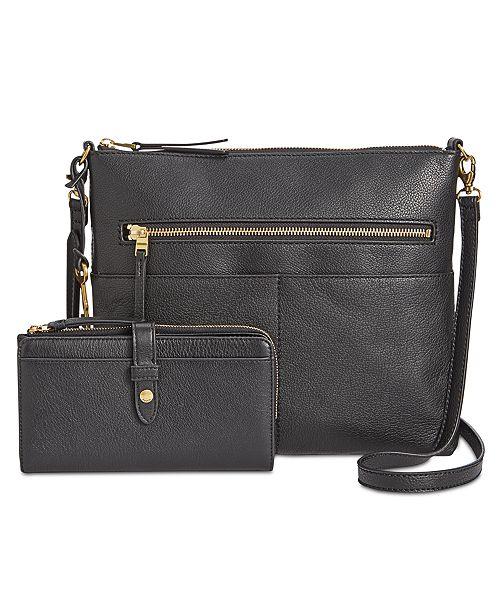 27fc103f9 Fossil Fiona Medium Leather Crossbody & Reviews - Handbags ...