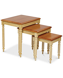 Alcade 3-Pc. Table Set, Quick Ship