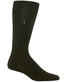 Men's Embroidered Trouser Socks
