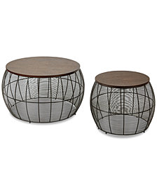 Dyal 2-Pc. Accent Table Set, Quick Ship