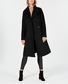 MICHAEL Michael Kors Double-Breasted Peacoat