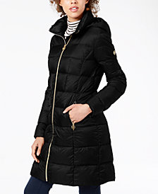 MICHAEL Michael Kors Hooded Puffer Coat