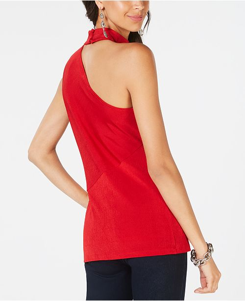 N Real Choker INC Macy's Concepts I for Shoulder C Top Red International One Created CC6qt