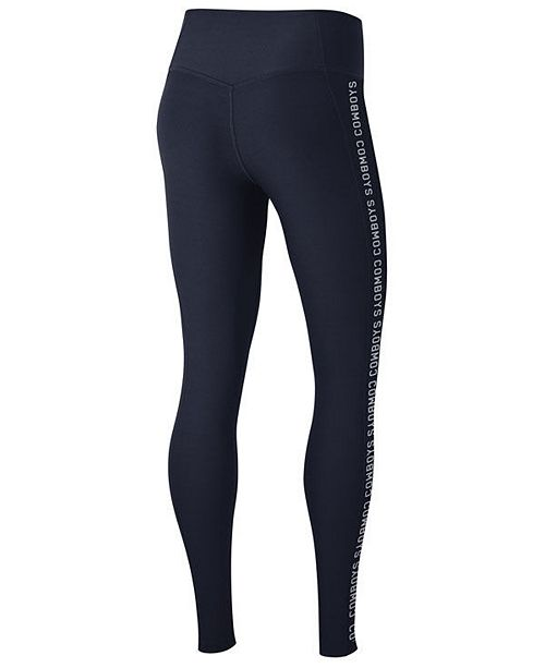 new products 61ef4 46134 Nike Women's Dallas Cowboys Core Power Tight Leggings ...