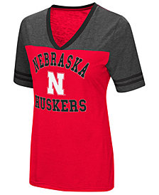 Colosseum Women's Nebraska Cornhuskers Whole Package T-Shirt