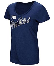 Colosseum Women's Florida International Golden Panthers Big Sweet Dollars T-Shirt