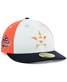 New Era Houston Astros All Star Game Patch Low Profile 59FIFTY Fitted Cap 2018