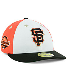 New Era San Francisco Giants All Star Game Patch Low Profile 59FIFTY Fitted Cap 2018