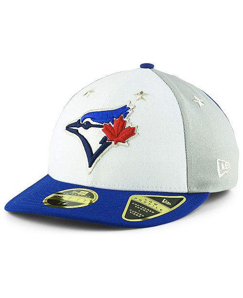 8bf74b5a39f ... New Era Toronto Blue Jays All Star Game Patch Low Profile 59FIFTY  Fitted Cap 2018 ...