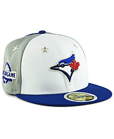 New Era Boys' Toronto Blue Jays All Star Game Patch 59FIFTY Fitted Cap 2018