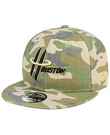 New Era Houston Rockets Combo Camo 9FIFTY Snapback Cap