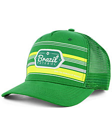 Top of the World Brazil World Cup Route Snapback Cap 2018